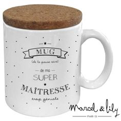 Mugs Marcel & Lily Moustache Party, Silhouette Portrait, Fairy Godmother, Miniature Food, Marcel, Rap, Lily, Messages, Mugs
