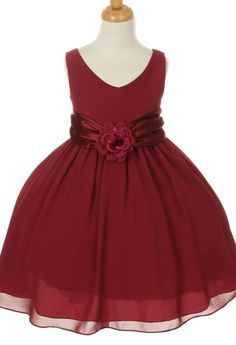 Truly mind Sweetheart rose little girl rose petal dress those were holes