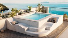 Small Swimming Pools, Small Backyard Pools, Backyard Pool Designs, Small Pools, Indoor Pools, Jacuzzi Outdoor, Outdoor Spa, Outdoor Decor, Piscina Interior