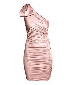 One-Shoulder-Kleid | Hellrosa | Damen | H&M DE