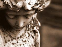 Angel found in an Irish graveyard   Flickr - Photo Sharing!