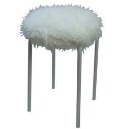 Mongolian Lamb Faux Fur Stool – Dorm-Decor. www.dorm-decor.com