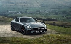 Download wallpapers 4k, Mercedes-AMG GT S, offroad, 2018 cars, supercars, Mercedes