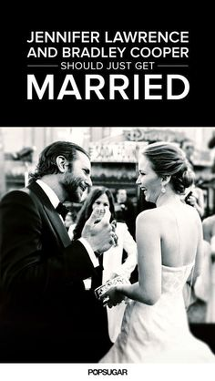 Jennifer Lawrence and Bradley Cooper were meant to be together.