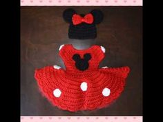 YouTube Crochet For Kids, Crochet Baby, Baby Blankets, Handmade Crafts, Crochet Projects, 4th Of July, Minnie Mouse, Internet, Kit