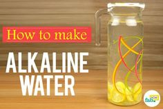 After detox water, alkaline water is the latest trend that has the fitness world in a tizzy. Cyberspace is packed with a score of articles and discussions regarding alkaline water and its effects on physical Make Alkaline Water, Alkaline Foods, Detox Drinks, Healthy Drinks, Remedies For Kidney Infection, How To Detox Your Body Naturally, Water Ionizer, Coconut Benefits, Tomato Nutrition
