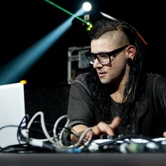 The gear and equipment used by Skrillex on Equipboard: Ableton Live 8, Native Instruments Massive Synth, KRK ROKIT 5 G3 Studio Monitor, and more
