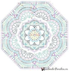 Transcendent Crochet a Solid Granny Square Ideas. Inconceivable Crochet a Solid Granny Square Ideas. Motifs Granny Square, Granny Square Crochet Pattern, Crochet Blocks, Crochet Diagram, Crochet Chart, Crochet Squares, Crochet Granny, Motif Mandala Crochet, Crochet Motifs