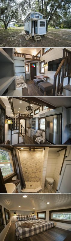 A stunning luxury tiny house for sale in Davenport, FL