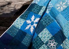 Frozen Quilt Pattern by OnWilliamsStreet on Etsy