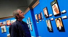 George Bush Paintings Fetch Lower Asking Price Than Fellow Despots