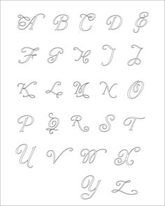 Quilled Paper Script Letter Monogram Wall Art - Choose Your Color and Letter