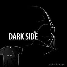 Dark Side Profile t-shirt