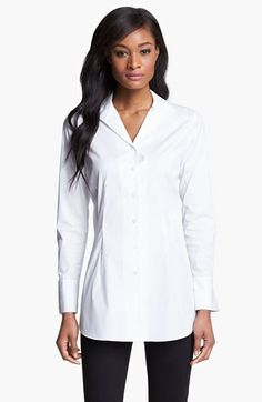Lafayette 148 New York 'Excursion Stretch' Tunic