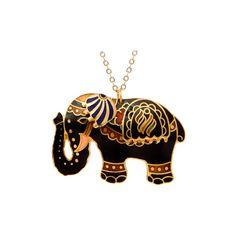 Sri Lanka Fancy Elephant Necklace, found on fredflare.com love it! so boho chic