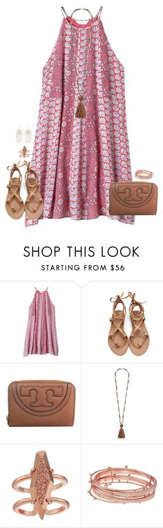 """""""oh hey!"""" by kaley-ii ❤ liked on Polyvore featuring Rebecca Taylor, Tory Burch, Chan Luu and Kendra Scott"""