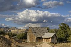Old Barn in Tropic Utah, Garfield County