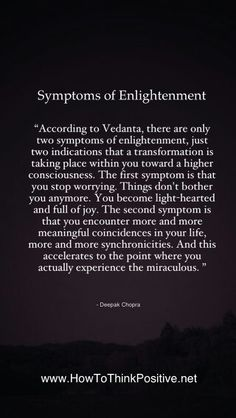 Enlightenment. The ultimate INFJ goal