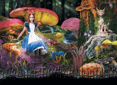 HD Alice no país das maravilhas Wallpaper i