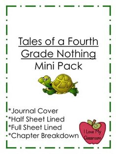 Tales of a Fourth Grade Nothing Mini Pack
