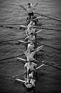 Pretty sure this is what my class looked like today when we finished our race rowing by 8s without flipping the boat...