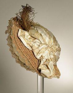 Bonnet ca. 1800 via The Los Angeles County Museum of Art