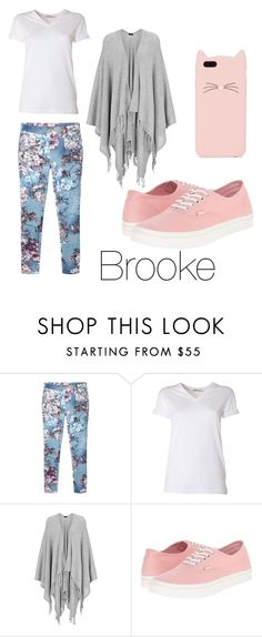 """""""Brooke"""" by erinljudd on Polyvore featuring MANGO, T By Alexander Wang, Joseph, Vans and Kate Spade"""