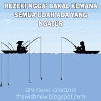 DP BBM Animasi Terbaru Versi Photoshop : Dp BBM Rezeki Mancing Ikan