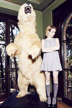 Emma Roberts x Elkin