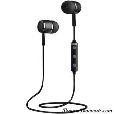 Naxa Bluetooth Isolation Earbuds With Microphone & Remote (gray)
