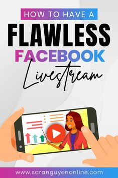 Learn how to have a flawless Facebook Live! Take advantage of these Facebook Live tips and strategies and as we cover 5 simple rules on how  to make your livestream flawless all the time! Check out this video.  #facebooklive #facebookmarketing #socialmediatips #socialmedia #tips  #strategies Using Facebook For Business, How To Use Facebook, For Facebook, Online Business, Facebook Marketing, Online Marketing, Social Media Marketing, Digital Marketing, Marketing Tools