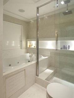 Projeto de Banheiro pela Arquiteta Vivian Coser