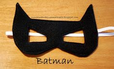 Sunshine and a Summer Breeze: Free Template for Batman and Catwoman Felt Masks