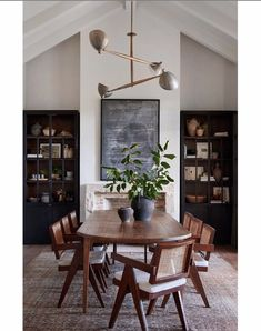 Home Office Bedroom, Amber Interiors, Up House, Dining Room Inspiration, Dining Room Design, Home Fashion, Decoration, Dining Table, Dining Nook