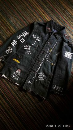 Denim jacket painting #painting #acrylicpaint #diy #custom #jacketpainting
