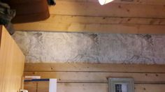 Wood cladding and map