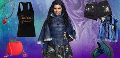 If you want to look like evie from Descendants her are stuff from home you could where the
