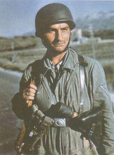 German paratrooper taken in late 1943.