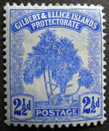 2 Gilbert & Ellice Islands (now Kiribati & Tuvalu) Ellice Islands, Kiribati Island, Gilbert Islands, International Date Line, Island Nations, South Pacific, Archipelago, Postage Stamps, Vintage World Maps