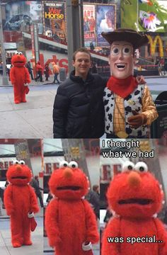 Funny pictures about Poor Elmo. Oh, and cool pics about Poor Elmo. Also, Poor Elmo. Funny Shit, Stupid Funny Memes, Funny Relatable Memes, Funny Posts, Funny Stuff, Stupid Stuff, Funny Things, Really Funny, Funny Cute