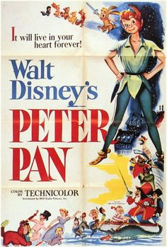 1953, my parents took me to the theater as a surprise.  I was 11 years old and loved Peter Pan.