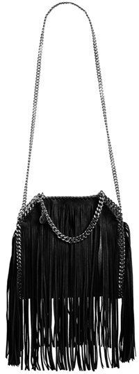 $1,865, Stella McCartney Mini Falabella Fringed Tote. Sold by Nordstrom. Click for more info: https://lookastic.com/women/shop_items/347999/redirect