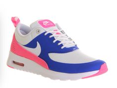 big sale c5598 ca710 Femmes Nike Air Max Thea Jeu Royal Blanc Rose Glow Loup Gris Chaussure De  Course,Fashion trainers will give you special comfort feel ,Never forget it  .