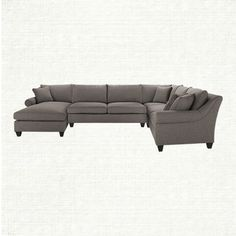 our rockway sectional brings all the elements of home together on a surface of unmatched softness that brings family, friends and pets together. Comfy Sectional, Grey Sectional, Leather Sectional Sofas, Couches, Condo Furniture, Dream Furniture, Living Room Furniture, Furniture Design, Furniture Ideas