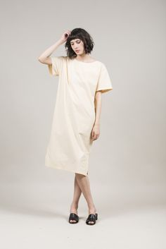 Ibiza Dress, Peach by Maryam Nassir Zadeh @ Kick Pleat - 1