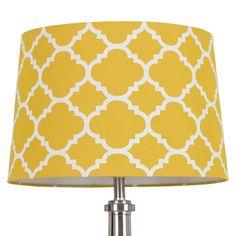 Threshold� Flocked Ogee Lamp Shade