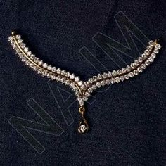 Diamond Mangalsutra in Jaipur, Rajasthan, India, Heere Ka . Diamond Mangalsutra, Gold Mangalsutra Designs, Jewelry Design Earrings, Necklace Designs, Gold Jewellery, Indian Wedding Jewelry, Indian Jewelry, Antique Jewellery Designs, Stylish Jewelry