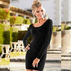 Ai que tudo!!   VESTIDO TUBINHO PRETO  COMPRE AQUI!  http://imaginariodamulher.com.br/look/?go=2dEZYhY  #comprinhas #modafeminina#modafashion  #tendencia #modaonline #moda #instamoda #lookfashion #blogdemoda #imaginariodamulher