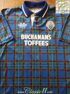 Relive Greenock Morton's 1993/1994 season with this vintage Match Winner home football shirt.