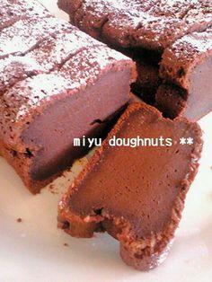 簡単*超濃厚チョコケーキ